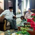 Jelang Musda IV PKDP Kota Padang,  Caretaker Ketua PKDP Syaharman Zahar Temui Bupati Suhatri Bur