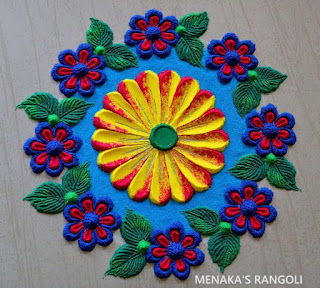 Circle Rangoli Designs