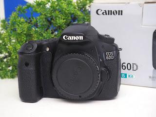Jual Canon EOS 60D Body Bekas Fulset