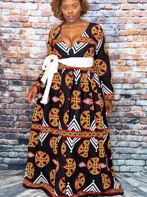 Ankara Gown Styles For Ladies 2021
