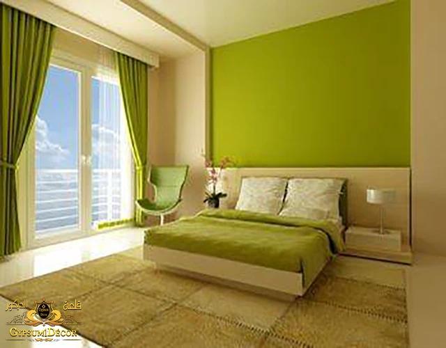 اختيار الوان حوائط غرف النوم
