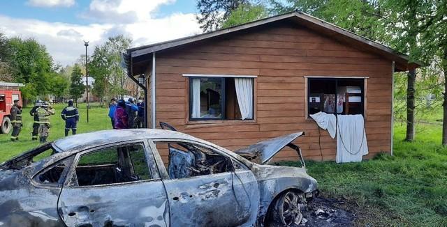 Heridos a bala y un automóvil quemado en Mantilhue