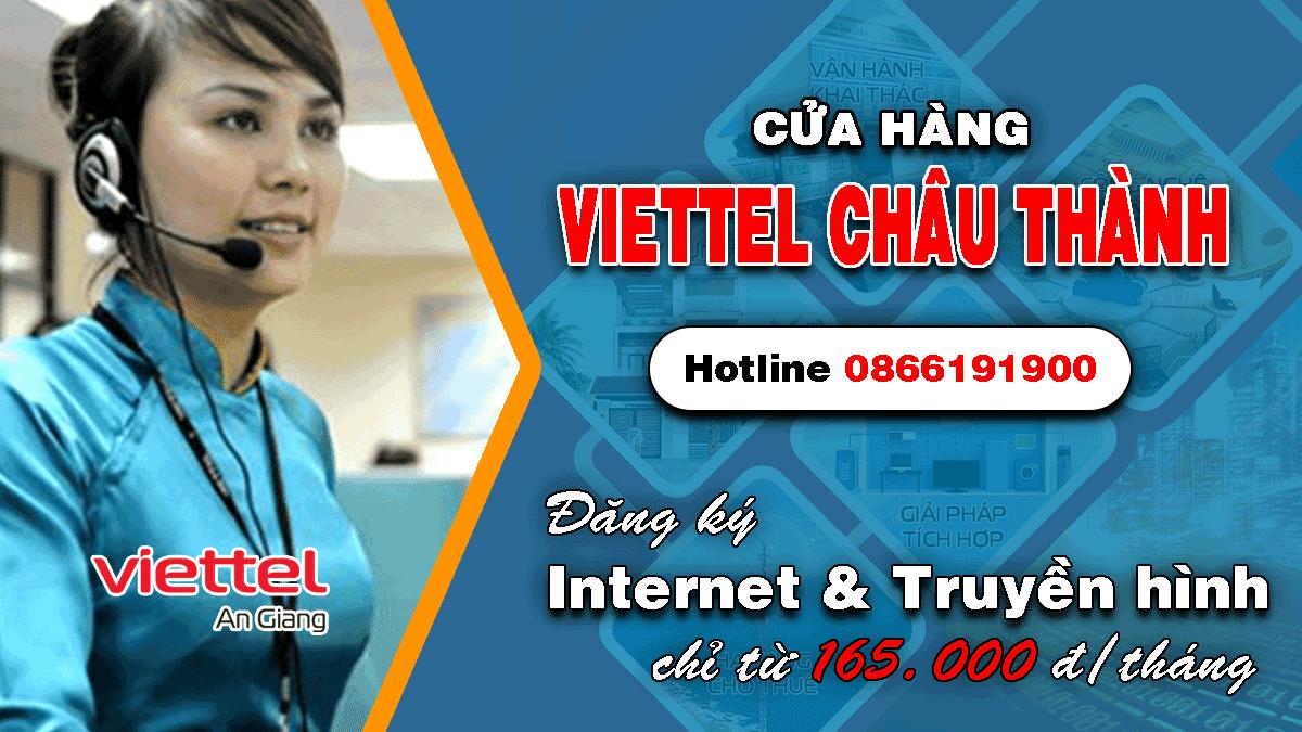 Viettel huyện Châu Thành - An Giang