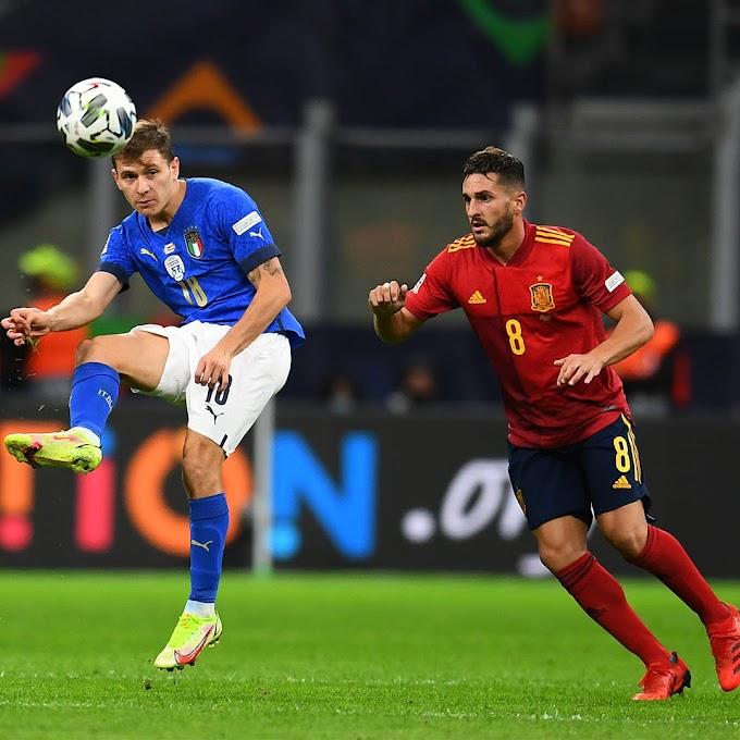 Nations League: l'Italia sconfitta dopo 37 partite, in finale ci va la Spagna