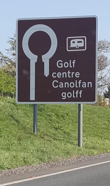 Golf centre Canolfan golff in Wrexham, Wales