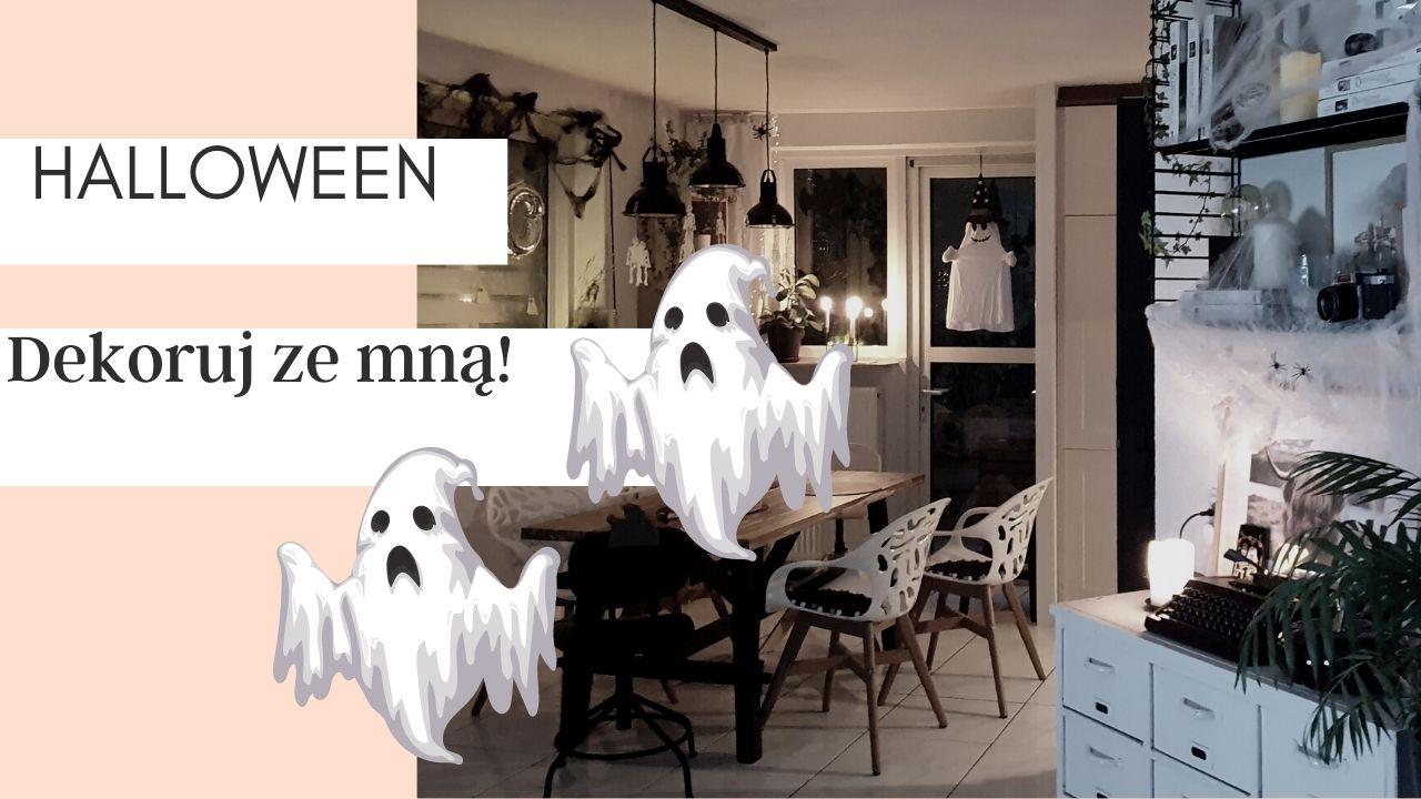 jak zrobić dekoracje na halloween w domu