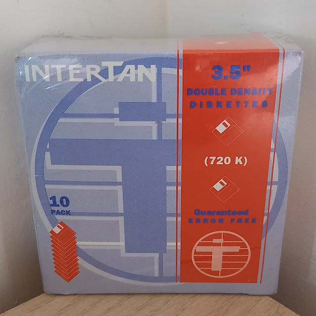 """InterTan Tandy 3.5"""" Double Density Diskettes"""