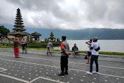 Tempat Wisata Ramai Pengunjung, Polisi Tetap Pantau Disiplin Prokes