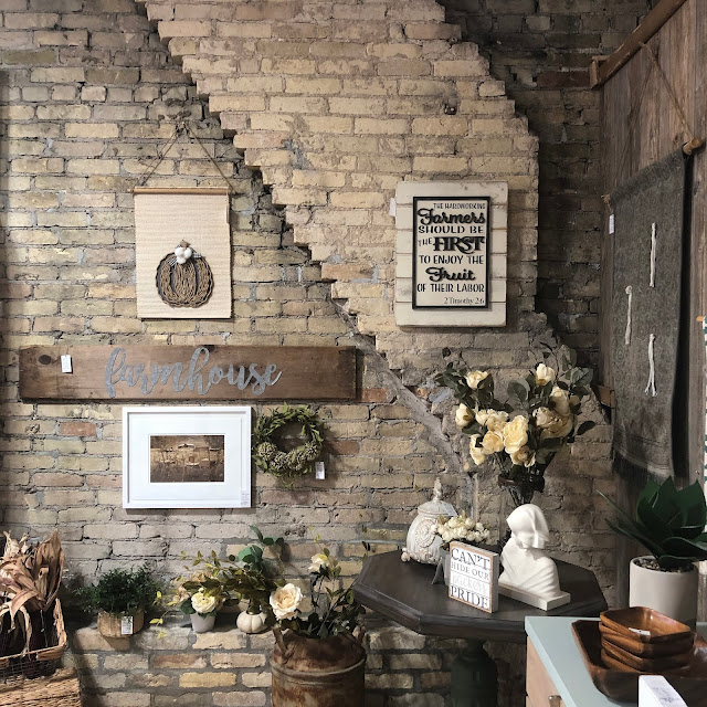 Love that 608 Vintage has found its home in a historic Janesville building.