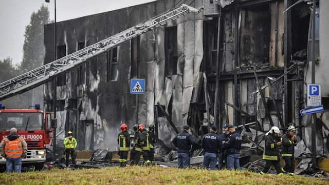 Pesawat Tabrak Gedung, Miliarder Rumania dan Keluarganya Tewas