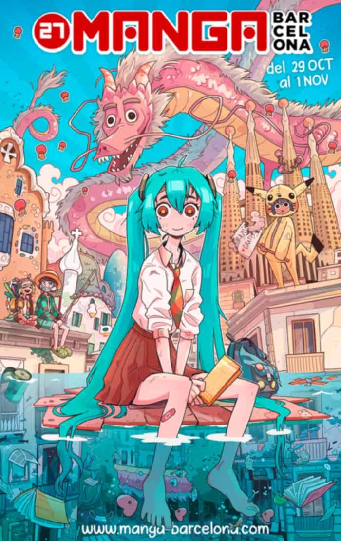 27 Manga Barcelona - cartel
