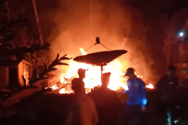 Lagi, Terjadi Kebakaran di Bone Hanguskan Satu Rumah