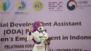 Atalia Ridwan Kamil Luncurkan Aplikasi Sekoper Cinta
