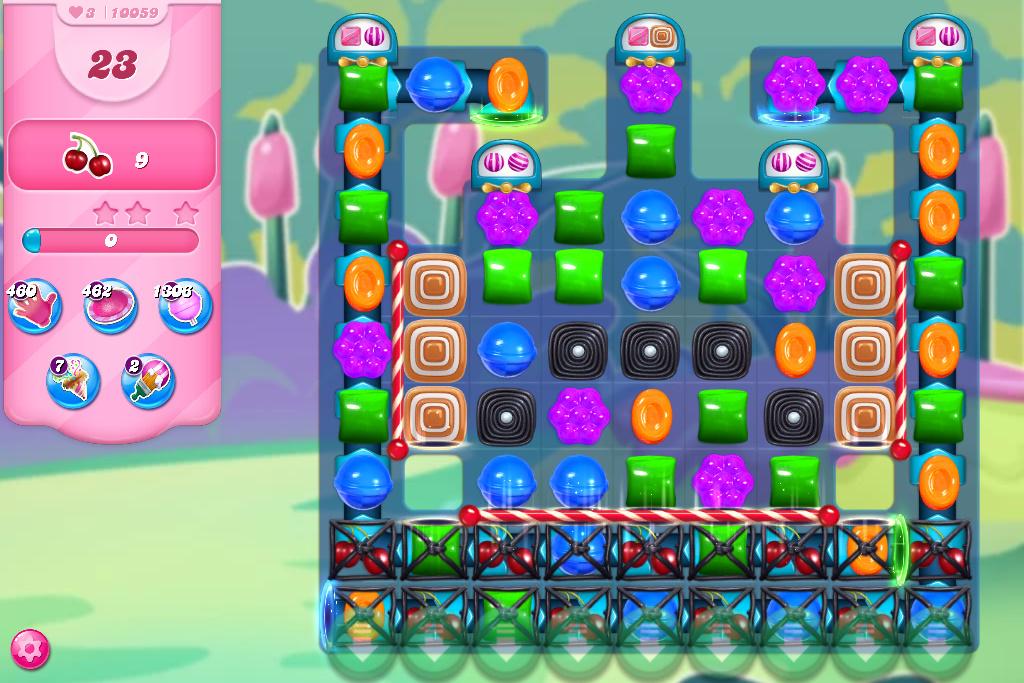 Candy Crush Saga level 10059