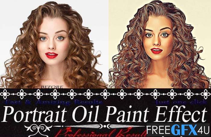 Oil Paint Effect Action