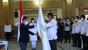 KONI Tebo Periode 2021-2025 Resmi Dilantik, Man Balok Siap Cetak Atlet Andalan Jambi