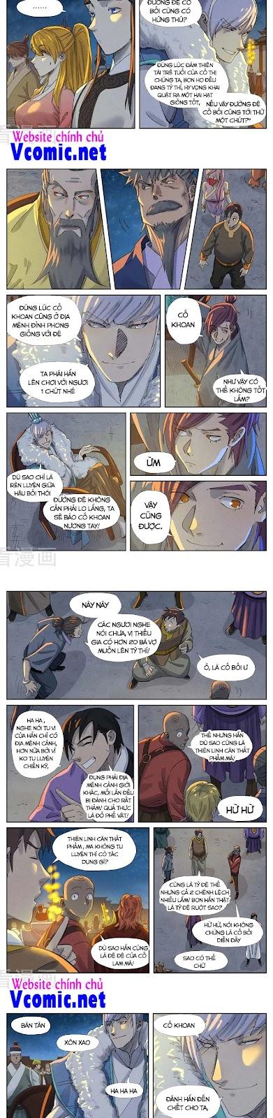 Yêu Thần Ký Chương 349 - Vcomic.net