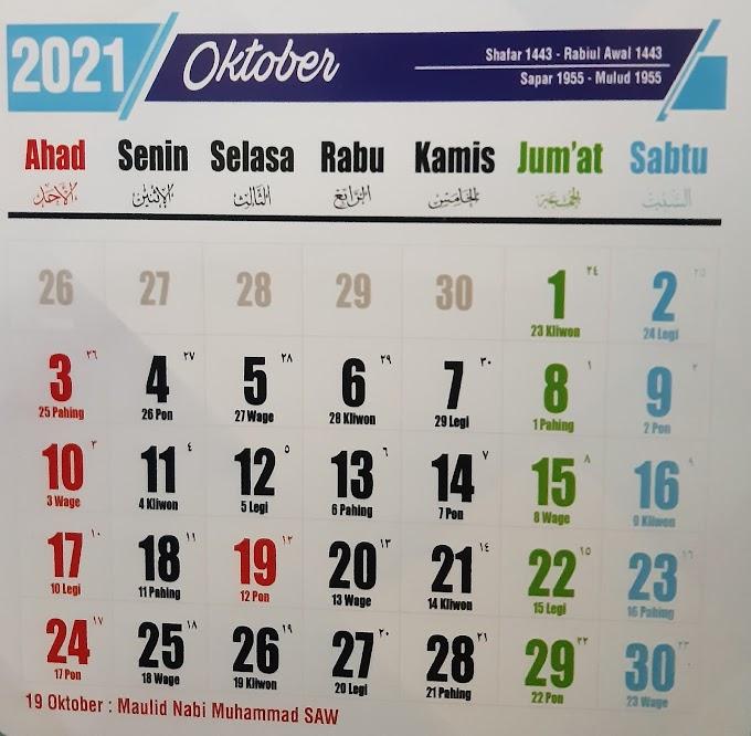 Wajib Ingat, Libur Maulid Nabi Muhammad SAW bukan Hari Selasa Tapi Digeser ke Hari Rabu