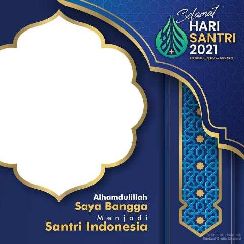 Link Bingkai Foto Twibbon Selamat Hari Santri Nasional 2021