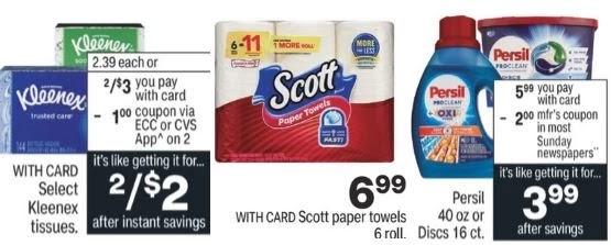 Scott Paper Towel CVS Deal 10/17-10/23