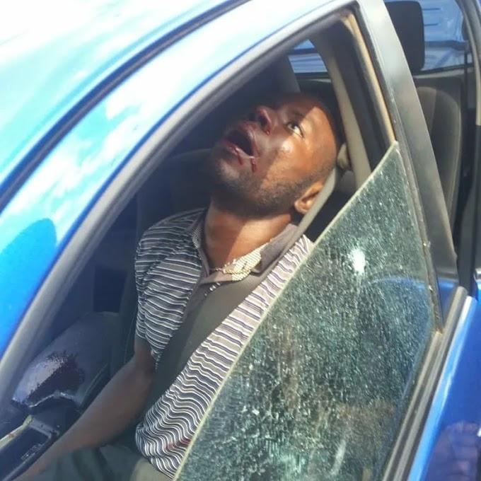 Unidentified gunmen attack a legislator's caravan in Anambra and kill the driver (watch video)