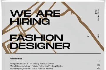 Loker Bandung Fashion Designer Torstein