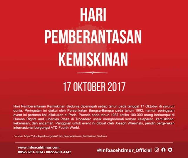 Memaknai 17 Oktober, Hari Pemberantasan Kemiskinan Sedunia