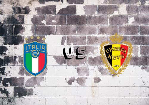 Italia vs Bélgica  Resumen y Partido Completo