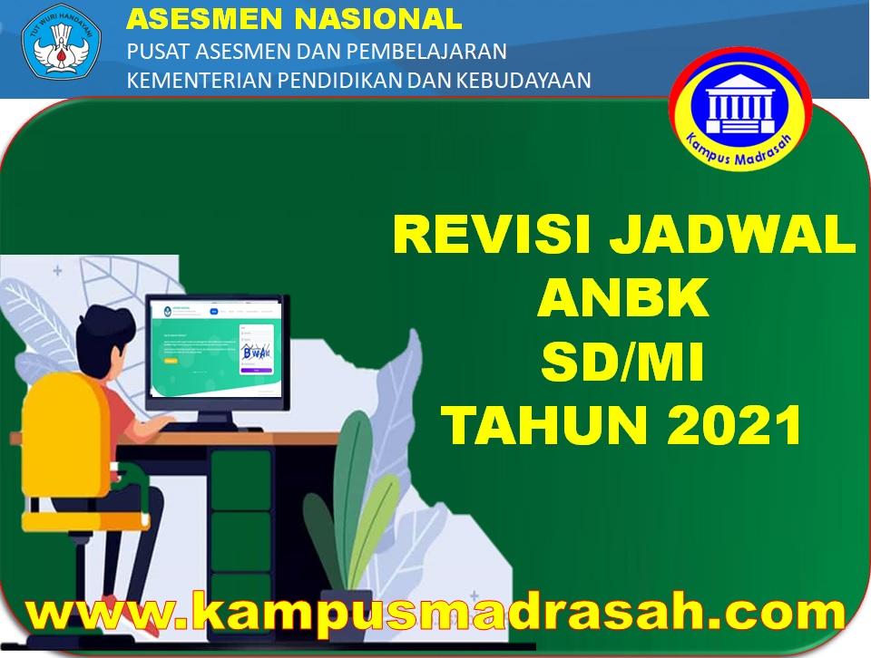 Revisi Jadwal ANBK SD/MI