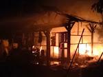 (Video) Api Hanguskan Rumah Warga Lakar Kalianda