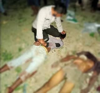 Sadis,  Anak Bunuh Ayah Kandung di Samosir, Kepala Korban Putus Digorok