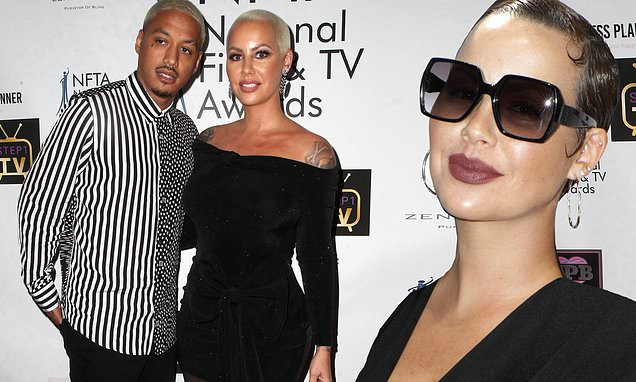 Amber Rose goes public with breakup; says boyfriend cheated on her with over 12 women