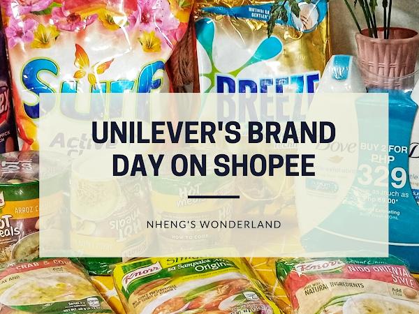 Unilever's Brand Day on Shopee!