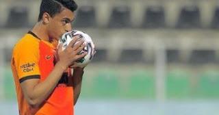 أولى كلمات مصطفى محمد بعد تسجيله مع غلطة سراي في الدوري التركي