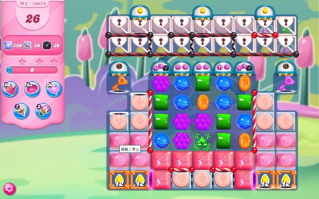 Candy Crush Saga level 10070