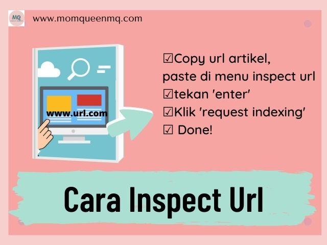 cara inspect url di  Google Search Console