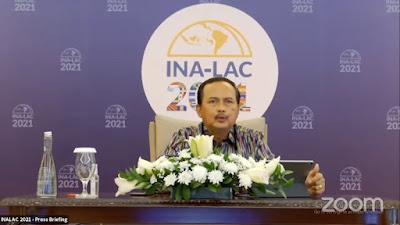 Forum Bisnis Indonesia-Amerika Latin dan Karibia (INA-LAC) 2021 Wujudkan Transaksi Bisnis US$87,96 juta