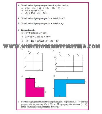 kunci jawaban matematika kelas 7 semester 1 halaman 214