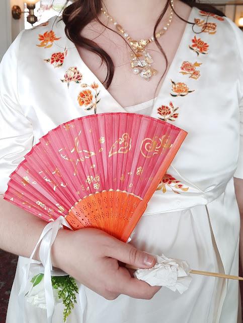 Robe japonisante Coralie D'Ors et de Soie