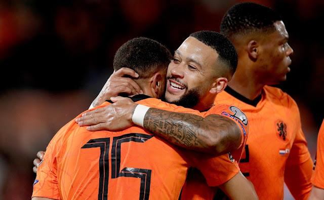 ملخص اهداف مباراة هولندا وجبل طارق (6-0) تصفيات كاس العالم