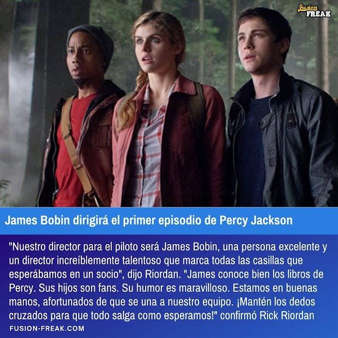 Jambes Bobin dirigirá el primer episodio de Percy Jackson