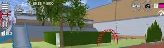 ID Rumah Labirin Park Di Sakura School Simulator