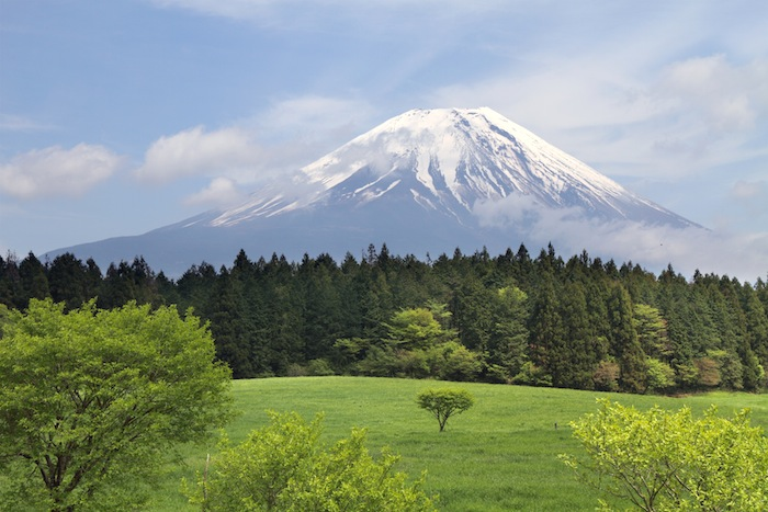 Mount Fuji Volcano Japan