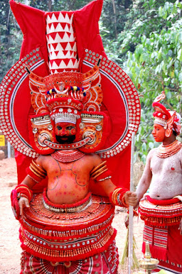 Ghantakarna Pisaca - Kerala Theyyam