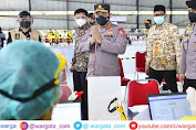 Kapolri Tinjau Langsung SVMI di SOR Universitas Indonesia Jawa Barat