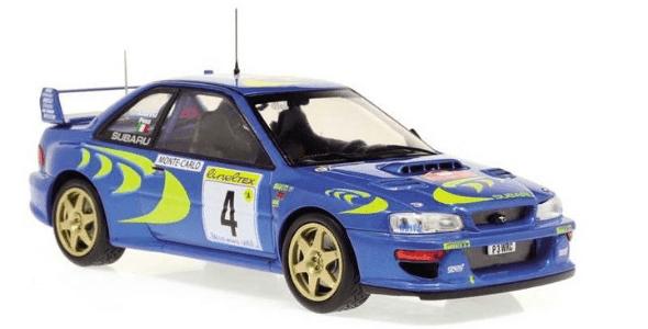 WRC collection 1:24 salvat españa, Subaru Impreza S3 WRC 97 1:24