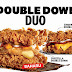 好康! ZINGER DOUBLE DOWN循众回归带上全新CHEEZILLA DOUBLE DOWN!  美味又放纵食欲的KFC双层炸鸡块汉堡!