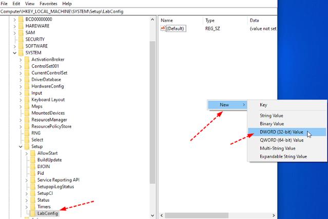 Cara mengelabui pengecekan fitur TPM dan Secure Boot (UBackup.com)