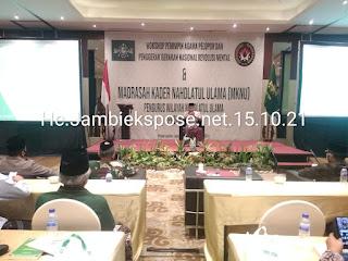 Ketua PB NU Secara Resmi Membuka Madrasah Kader NU (MKNU).