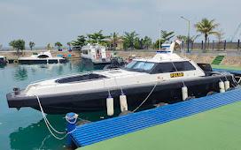 TOP! Ditpolairud Polda Banten Punya Kapal Pemburu Baru untuk Awasi Perairan